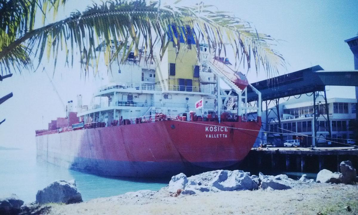 Československá námořní plavba – nákladní loď m/s Košice