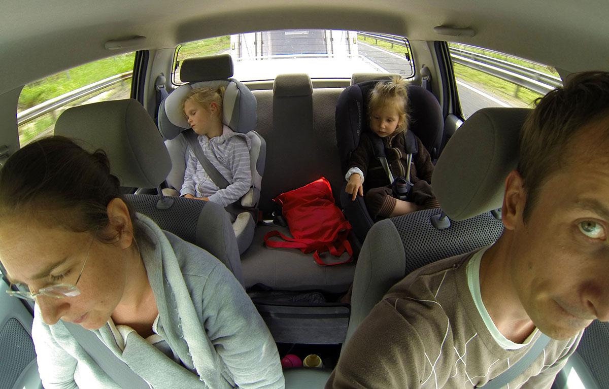 Víťa Válka s rodinou na cestách