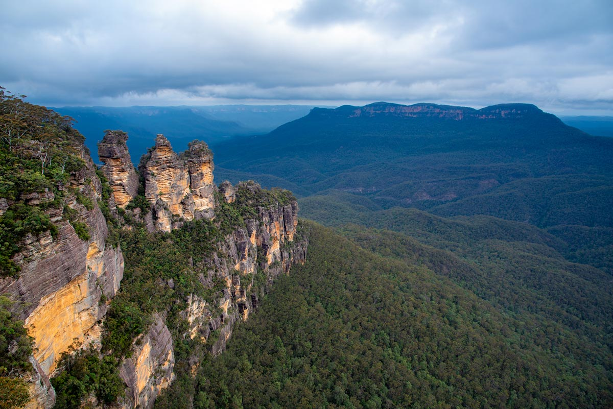 Ze Strahova do NASA – Blue Mountains, NSW, Austrálie