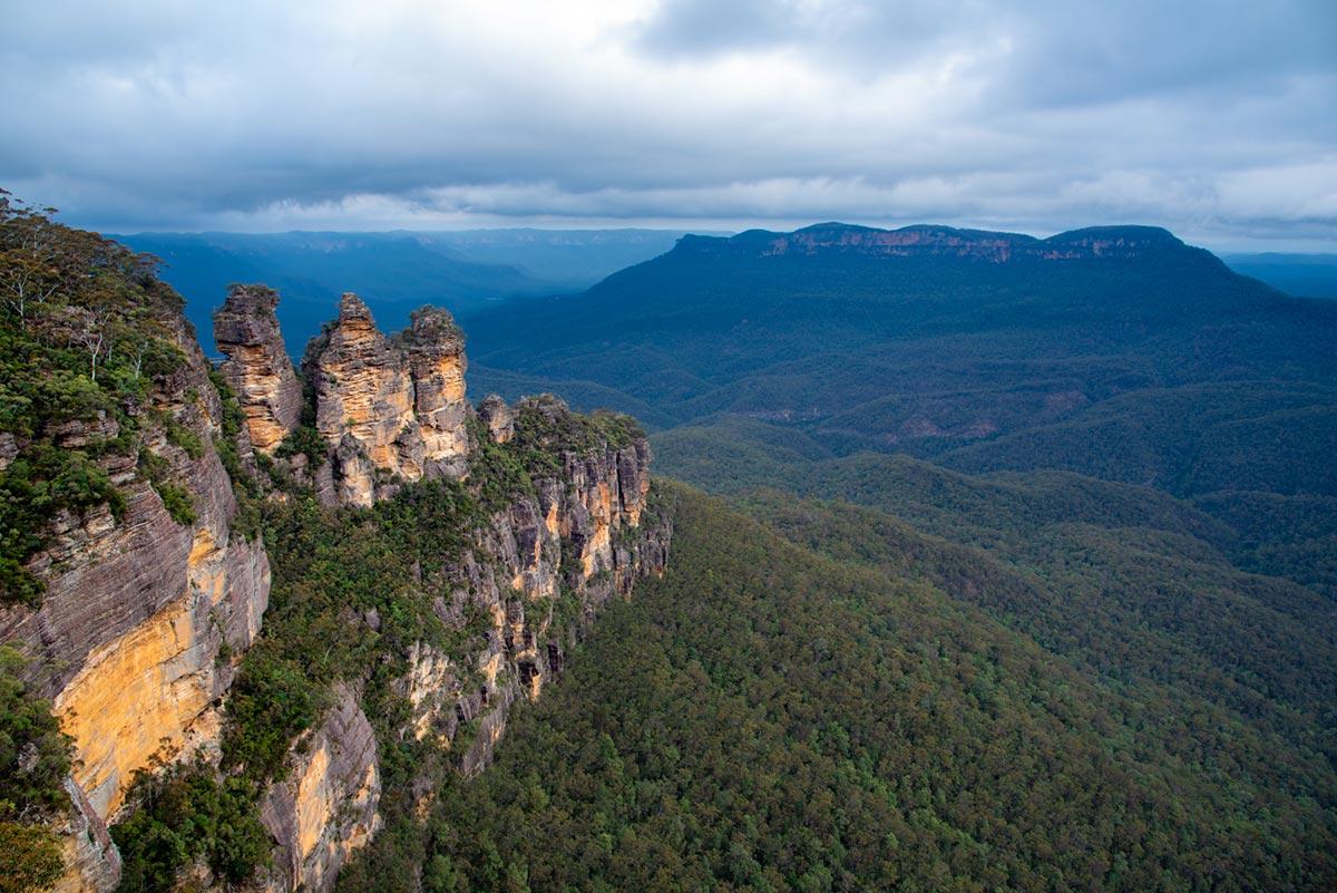 Ze Strahova do NASA – Blue Mountains, NSW, Austrálie