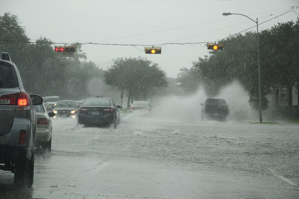 Bouře v Houstonu, Texas, USA, autor: Veronika Vaněčková