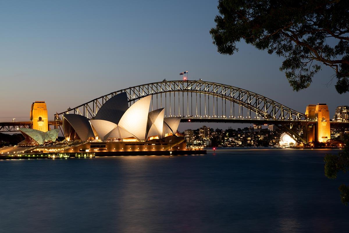Ze Strahova do NASA – Sydney Opera House a Harbour Bridge, NSW, Austrálie