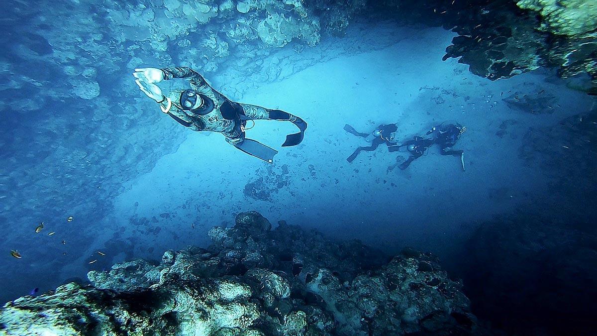 Freediving, autor: Martin Cheníček