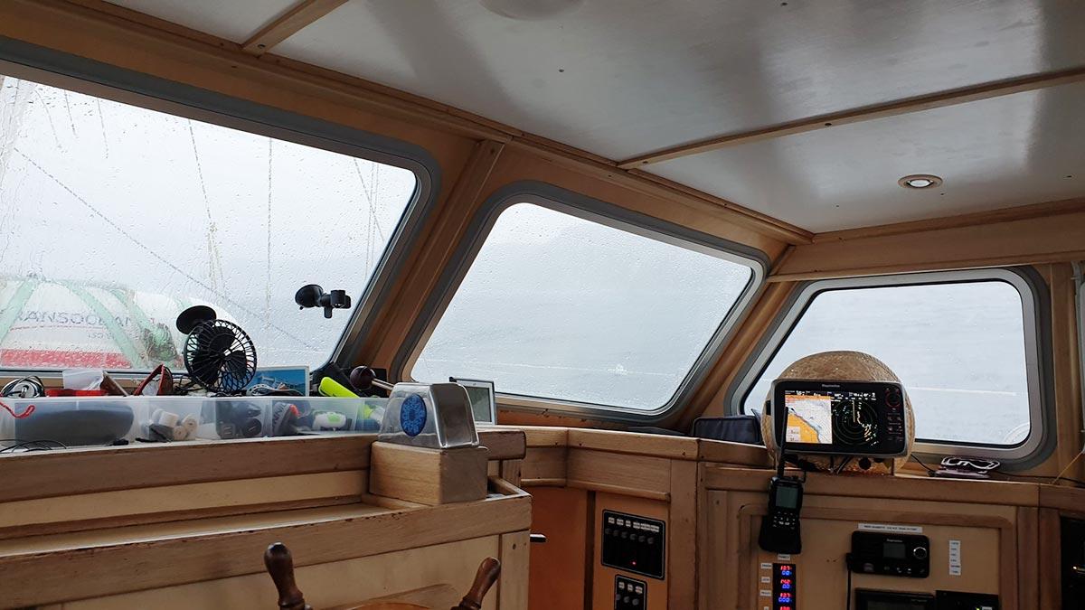 Vagant na moři – můstek, autor: Martin Orság