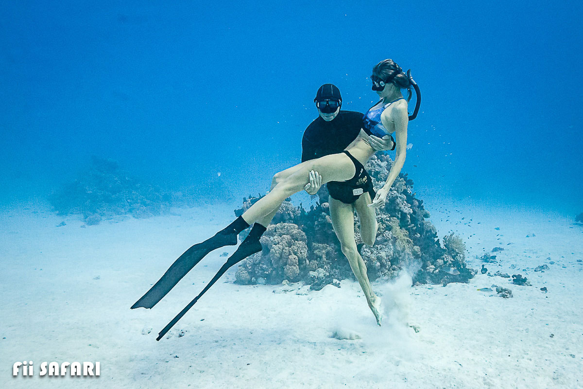 Freediving – Mi&Ma, autor: Karel Fiala